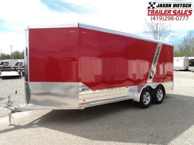 2018 Legend Manufacturing 7x19 DVNTA35 Enclosed Cargo Trailer... STOCK# 317078
