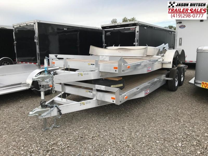 2019 American Hauler Industries 8X18 Equipment Trailer....STOCK # AH-066218