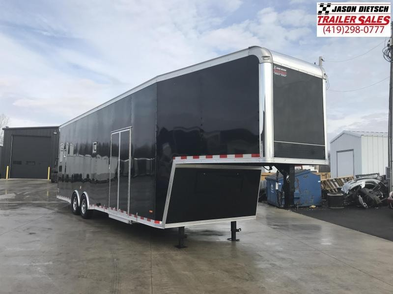 2019 RC Trailers 8.5X36 EXTRA HEIGHT RAMP OVER Car / Racing Trailer