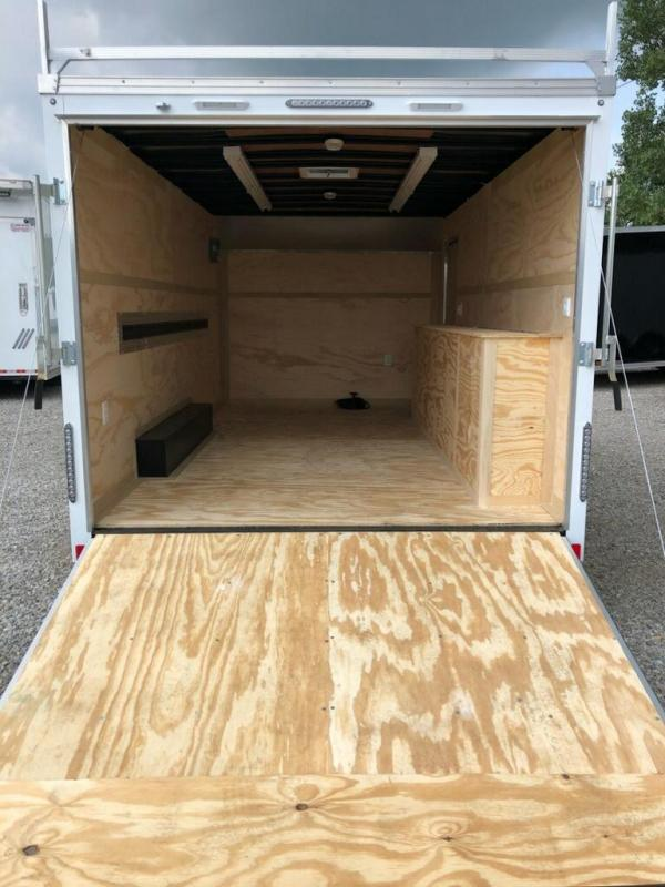 2019 United Trailers UXT 8.5x16 Enclosed Tool Crib Trailer.... Stock 163999