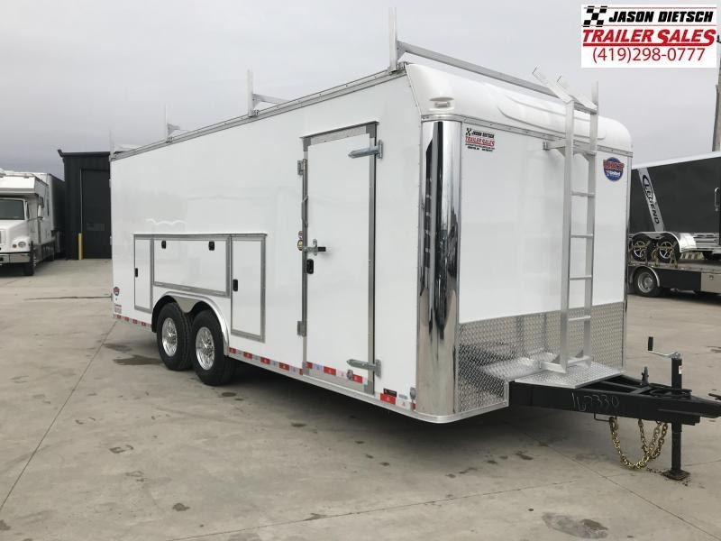 2019 United Trailer UXT 8.5x20 Enclosed Tool Crib Trailer....Stock#UN-167330