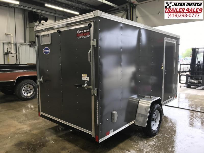 2020 United XLV 6X12 V-Nose Slant Enclosed Cargo Tr....Stock# UN-168978