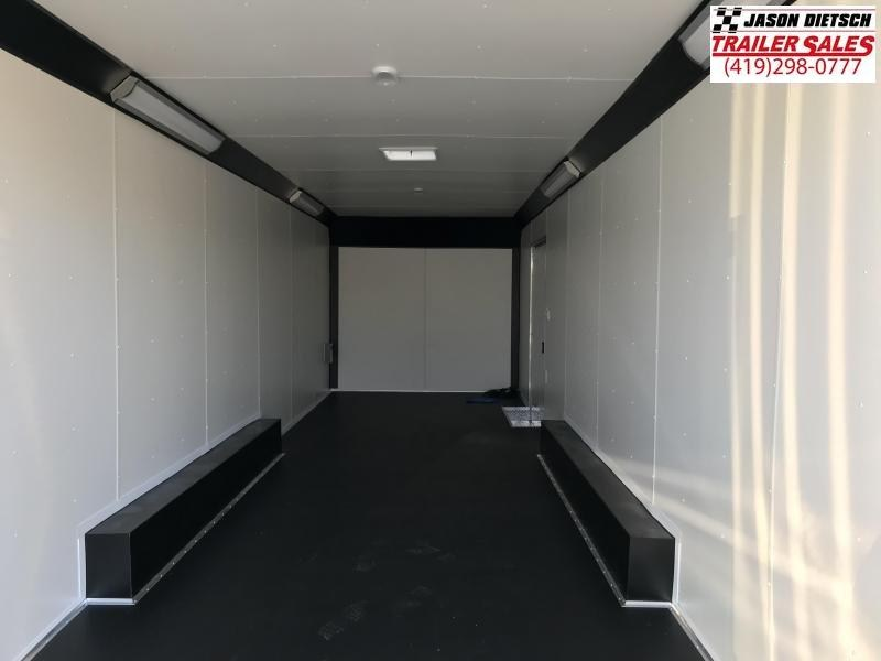 2019 United Trailers UXT 8.5X28 Extra Height Enclosed Cargo Trailer... STOCK# UN-163217