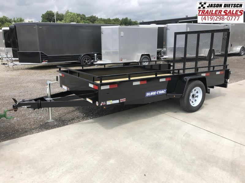 2019 SURE-TRAC 6x12 Steel High Side Trailer..... Stock # ST-244805