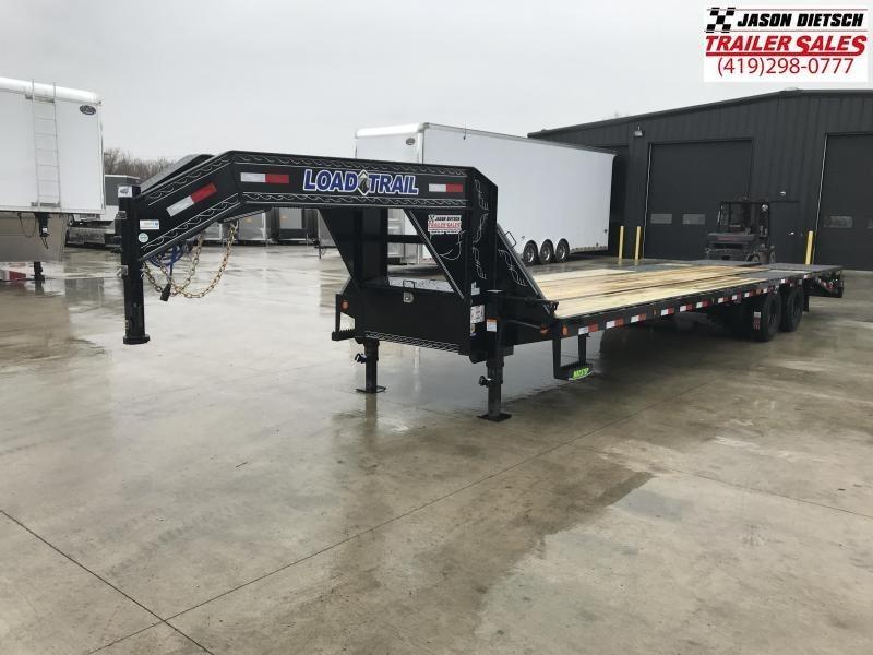 2019 Load Trail 102X32 Tandem Low-pro Gooseneck Equipment Trailer....STOCK# LT-186579