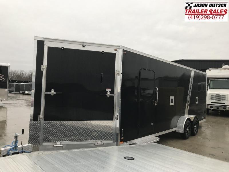 2019 Legend Manufacturing 7X27 EXPLORER EXTRA HEIGHT Snowmobile Trailer....STOCK LG-317346