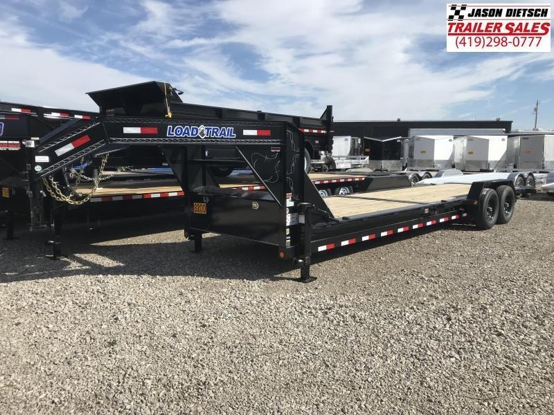 2019 Load Trail 83X26 Tilt-n-go Gooseneck Tandem Axle Equipment Trailer....STOCK# LT-175314