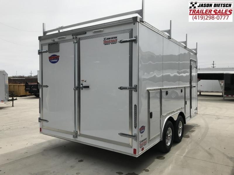 2019 United Trailers UXT 8.5x16 Enclosed Tool Crib Trailer....Stock # UN-167782