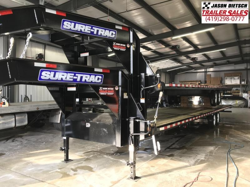 2019 Sure-Trac 8.5x36 LowPro Deckover Tandem GN 15K....STOCK# ST-254390