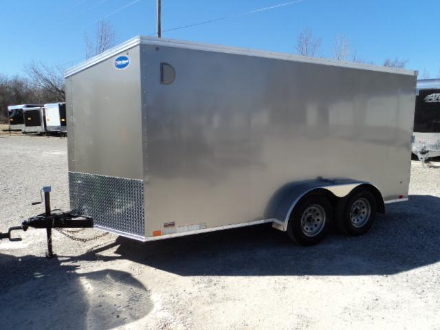 2018 United Trailers XLV 7x14 V-Nose Enclosed Cargo Trailer....Stock# UN-161392