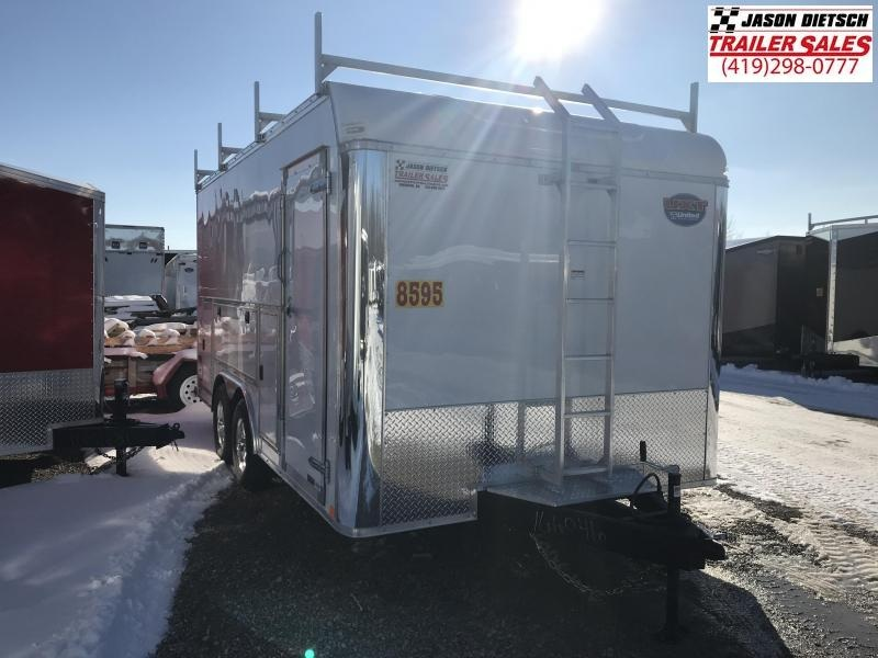 2019 United Trailers UXT 8.5x16 Enclosed Tool Crib Trailer....Stock # UN-166046