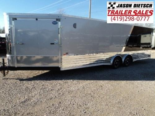 2018 United Trailer XC 8.5x30 Wedge Tag Tandem Axle Flat Top Trailer.... Stock# UN-160940
