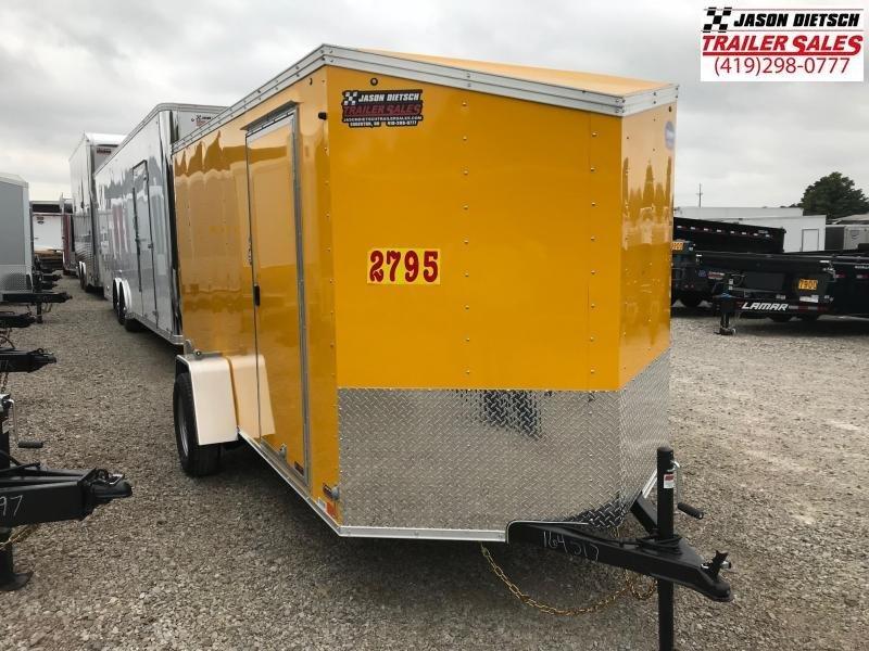 2019 United XLV 6X12 V-Nose Slant Enclosed Cargo Tr....Stock# UN-164517