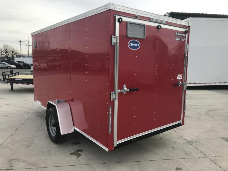 2019 United XLV 6X12 V-Nose Slant Enclosed Cargo Tr....Stock# UN-166127