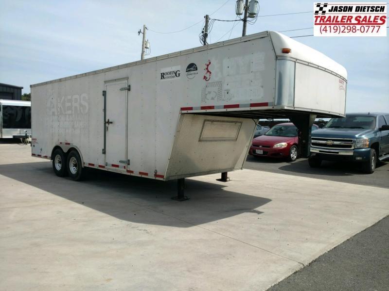 2004 8.5x28 goose neck trailer