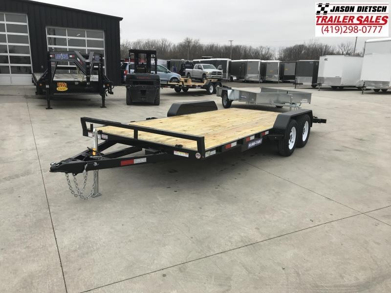 2019 Sure-Trac 7X18 Wood Deck Car Hauler....STOCK# ST-259273