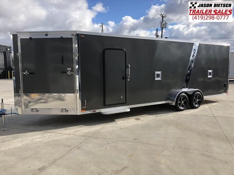 2019 Legend Manufacturing 7X29 EXPLORER EXTRA HEIGHT Snowmobile Trailer....STOCK LG-317349