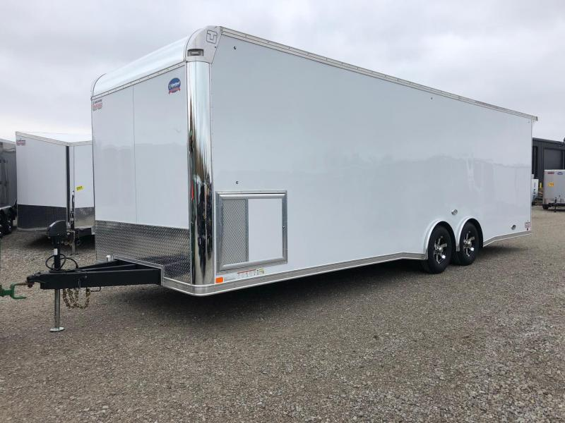 2019 United Trailer GEN 4- 8.5x28 EXTRA HEIGHT Enclosed Race Trailer....Stock#UN-160473