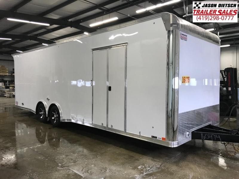 2019 United Trailer GEN 4- 8.5x28 EXTRA HEIGHT Enclosed Race Trailer....Stock#UN-160475