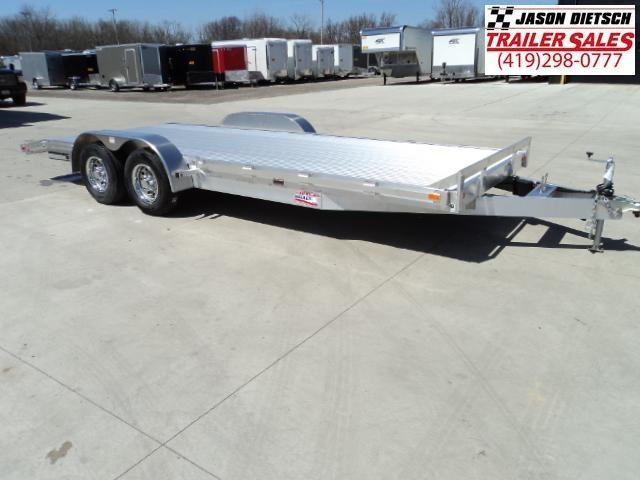 2018 American Hauler 8x20 Flat Deck Carhauler....Stock#AH-062429