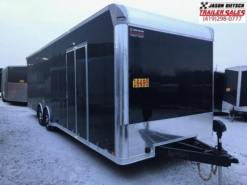 2019 United Trailer GEN 4- 8.5x28 EXTRA HEIGHT Enclosed Race Trailer....Stock#UN-160484