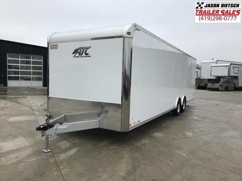 2019 ATC RAVAN 8.5X28 Car / Racing Trailer...STOCK# ATC-217633