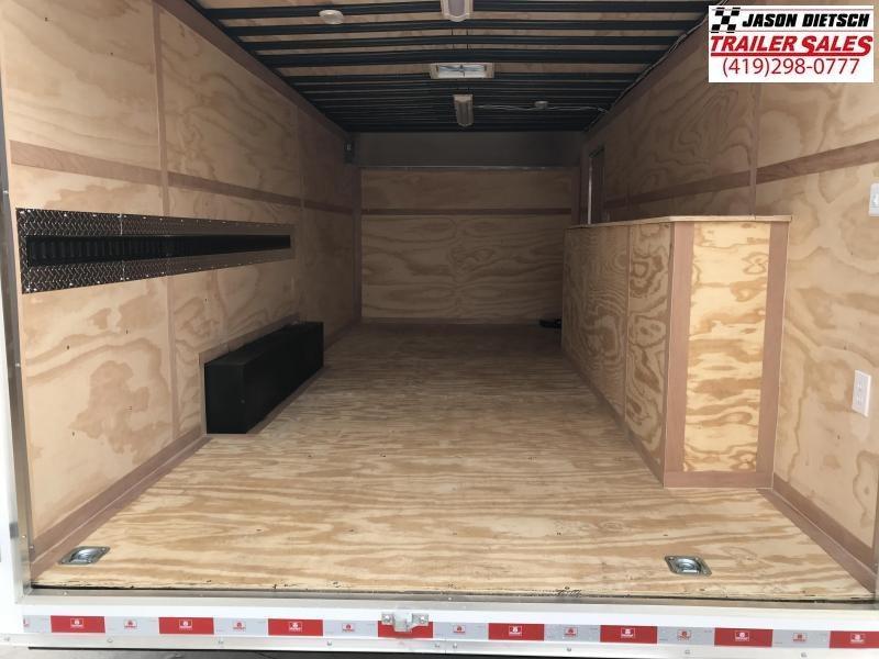 2019 United Trailer UXT 8.5x20 Enclosed Tool Crib Trailer....Stock#UN-167937