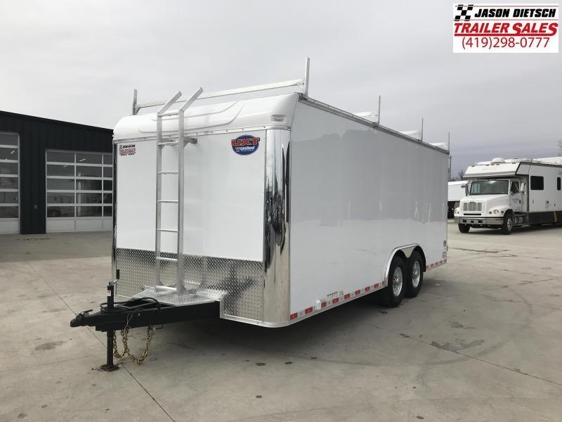 2019 United Trailer UXT 8.5x20 Enclosed Tool Crib Trailer....Stock#UN-167937