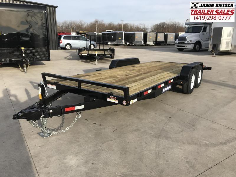 2019 Sure-Trac 7X20 Open Wood Deck Car Hauler....STOCK# ST-258571