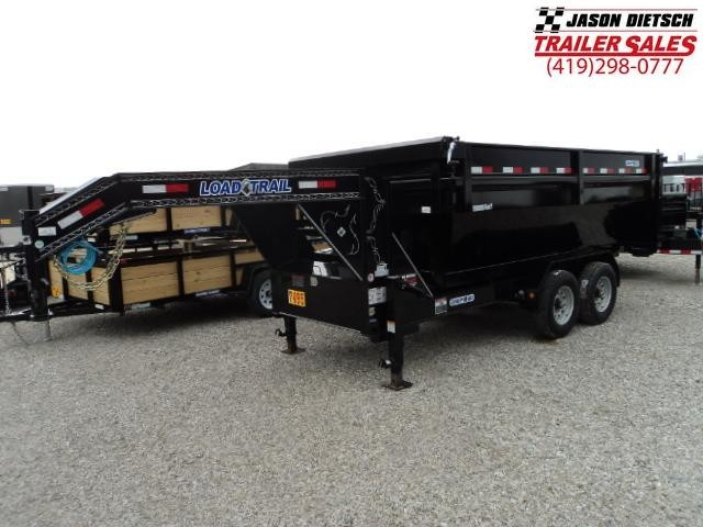 2017 Load Trail DT 83x14 Tandem Axle Drop-N-Go Dump Trailer....Stock#LT-24781