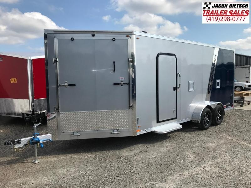 2019 Legend Manufacturing 7X23 EXPLORER EXTRA HEIGHT Snowmobile Trailer....STOCK LG-317319