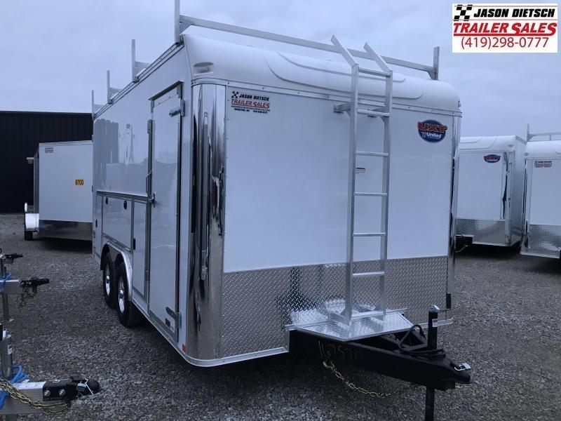 2019 United Trailers UXT 8.5x16 Enclosed Tool Crib Trailer....Stock # UN-167570