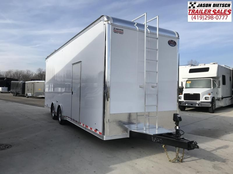 2019 United Trailers 8.5X28 SPRINT CAR TRAILER....STOCK# UN-165215