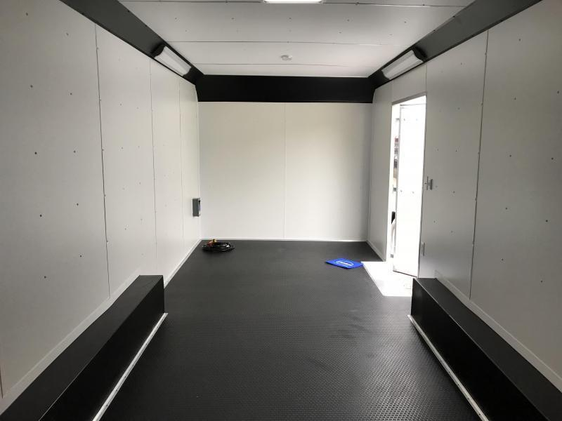 2019 United Trailers UXT 8.5X24 Extra Height Enclosed Cargo Trailer... STOCK# UN-163220