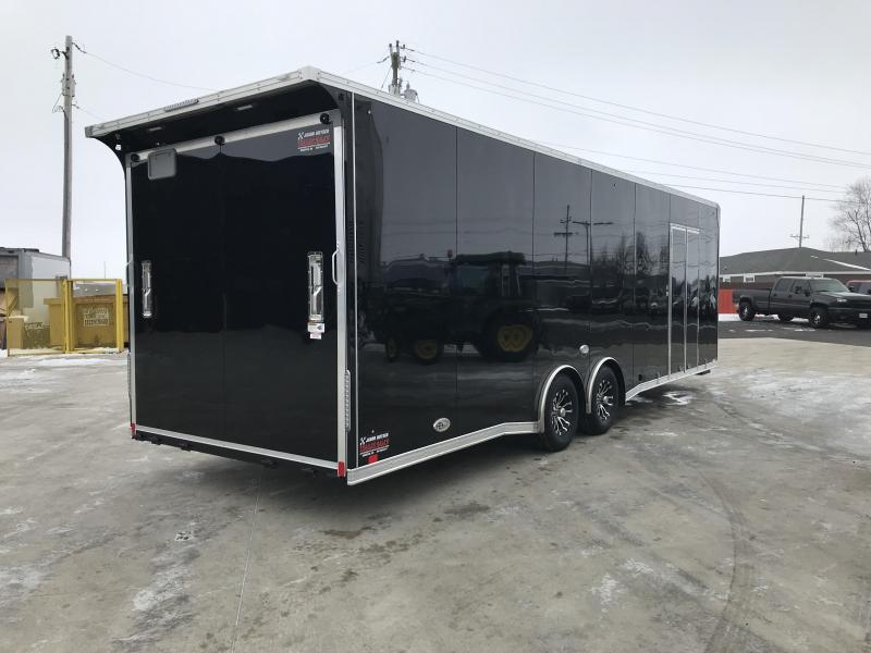 2019 United Trailer GEN 4- 8.5x28 EXTRA HEIGHT Enclosed Race Trailer....Stock#UN-160462