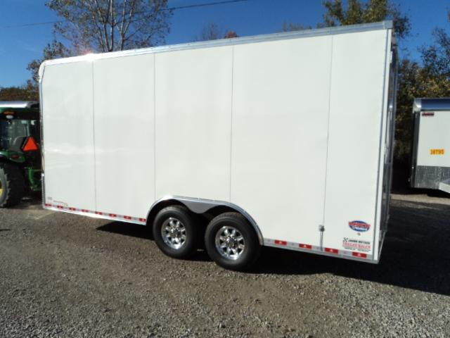 2018 United Trailer UXT 8.5x18 Extra Height Enclosed Trailer....Stock#UN-159135