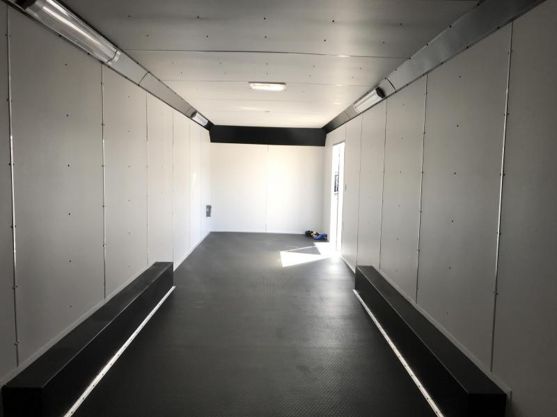 2019 United Trailer UXT 8.5x34 Enclosed Extra Height Carhauler....Stock#UN-166316