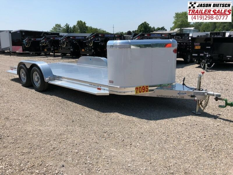 2019 Sundowner 81X20 Sunlite Car Trailer.... STOCK# SD-FA7529