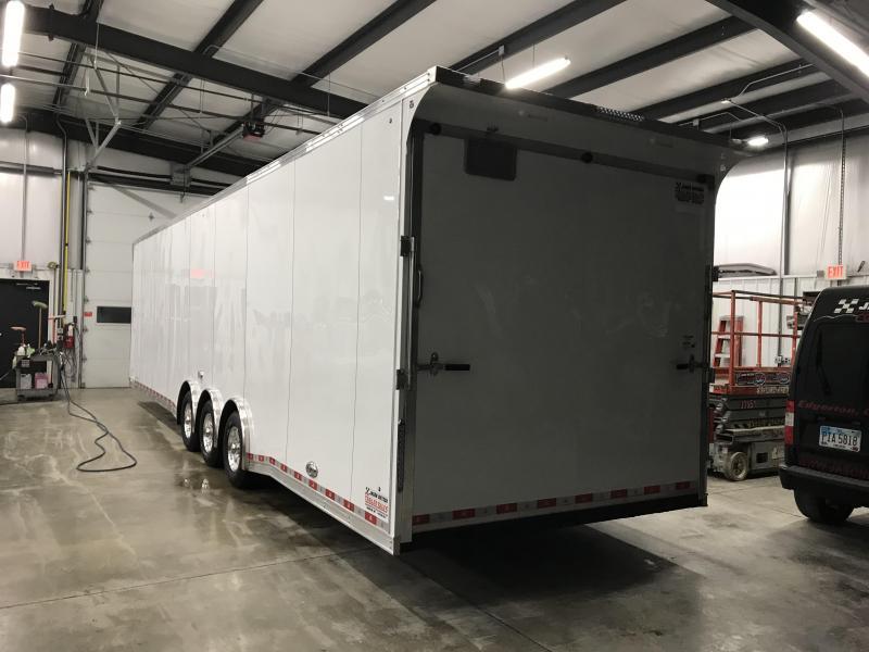 2019 United Trailer UXT 8.5x34 Enclosed Extra Height Carhauler....Stock#UN-166315