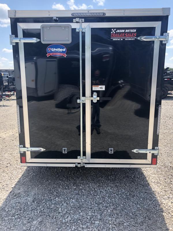 2019 United XLV 6X12 V-Nose Slant Enclosed Cargo Tr....Stock# UN-164130