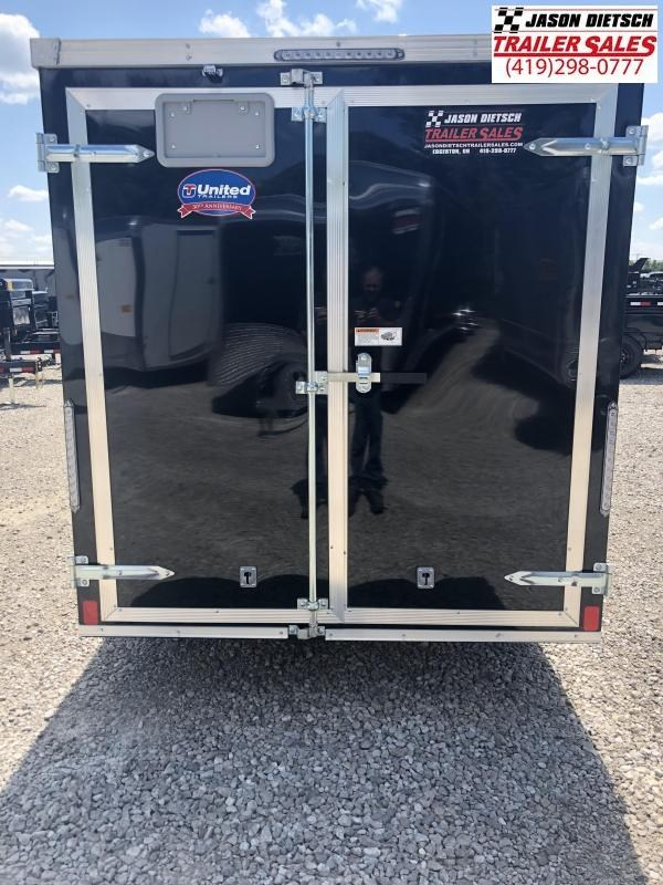 2019 United XLV 6X12 V-Nose Slant Enclosed Cargo Tr....Stock# UN-164130