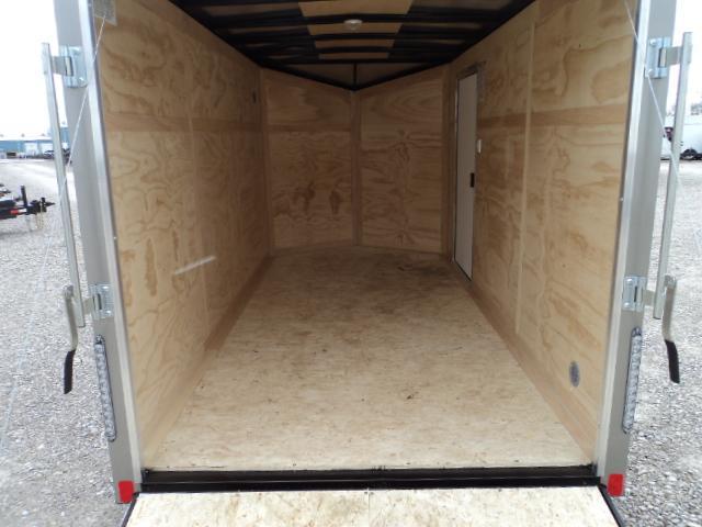2018 United XLV 6X12 V-Nose Slant Enclosed Cargo Tr....Stock# UN-162221