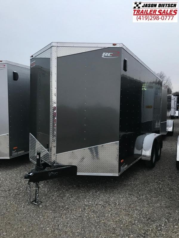 2019 RC Trailer 7x14 EXTRA HEIGHT....STOCK# RC-649853