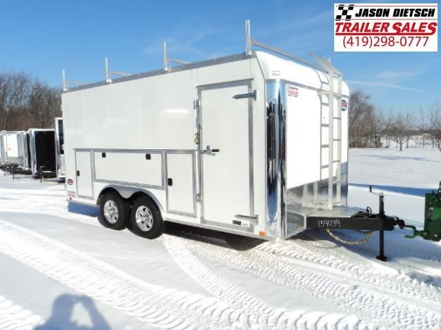 2018 United Trailers UXT 8.5x16 Enclosed Cargo Trailer Stock- 159039