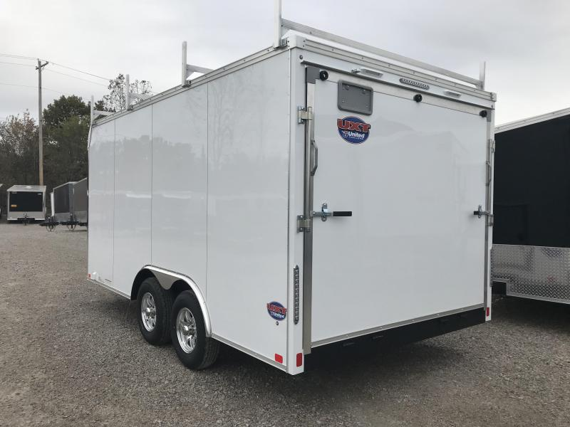 2019 United Trailers UXT 8.5x16 Enclosed Tool Crib Trailer....Stock # UN-165299