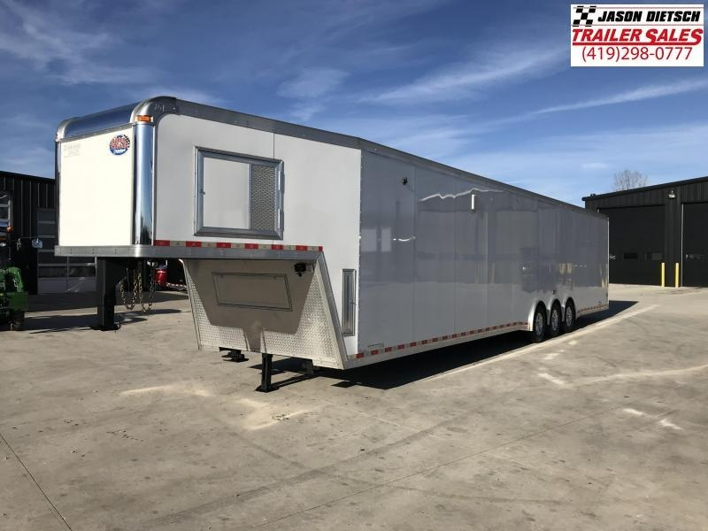 2015 United Trailers USHGN 8.5x48 Car / Racing Trailer....STOCK# UN-143443