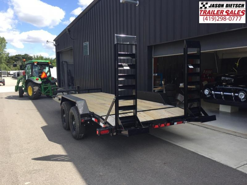2019 Load Trail 83x18 Equipment Trailer....STOCK# LT-183707