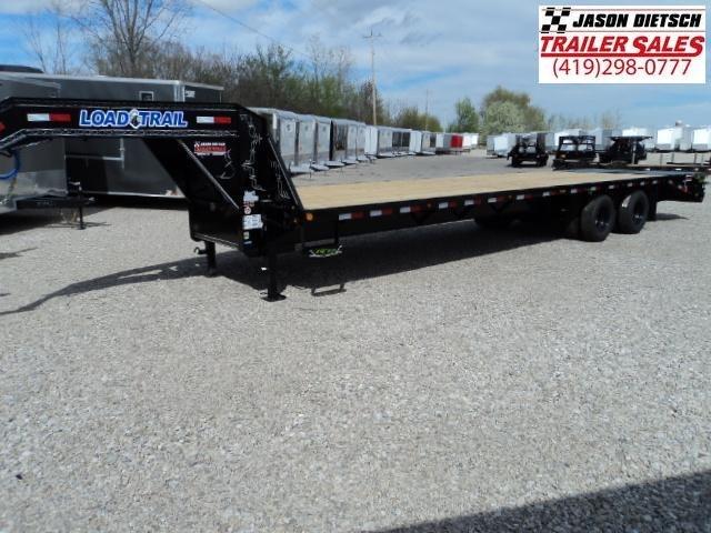 2018 Load Trail 102x32 Tandem Heavy Duty Gooseneck Equipment Trailer... Stock- 165816