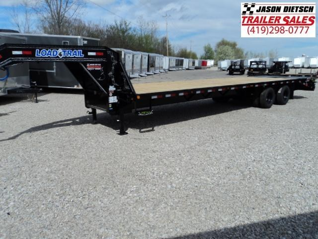 2018 Load Trail 102x32 Tandem Heavy Duty Gooseneck Equipment Trailer... Stock- 165816