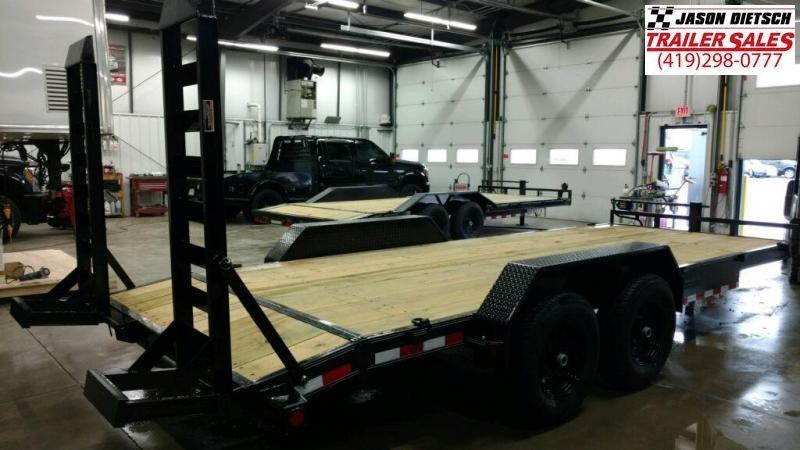 2019 Load Trail 83X20 Tandem Axle Carhauler Car / Equipment Trailer...STOCK# LT-182448